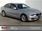 2014 Glacier Silver Metallic BMW 3 Series 320i Sedan #92194576
