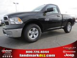 2014 Black Ram 1500 Tradesman Regular Cab #92194456