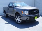 2014 Sterling Grey Ford F150 STX Regular Cab #92194560
