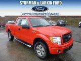 2014 Race Red Ford F150 STX SuperCab 4x4 #92194421