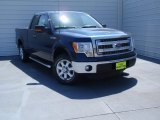 2014 Blue Jeans Ford F150 XLT SuperCab #92194557