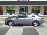 2012 Forged Silver Metallic Acura TSX Sedan #92194626