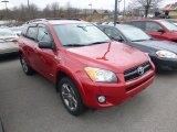 2011 Barcelona Red Metallic Toyota RAV4 Sport 4WD #92238231