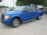 2014 Blue Flame Ford F150 STX SuperCab #92237960
