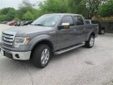 2014 Sterling Grey Ford F150 Lariat SuperCrew 4x4 #92237952