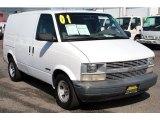 2001 Ivory White Chevrolet Astro Commercial Van #92237945