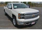 2014 White Diamond Tricoat Chevrolet Silverado 1500 LTZ Crew Cab 4x4 #92238151