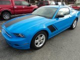 2013 Grabber Blue Ford Mustang V6 Coupe #92238148
