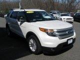 2011 White Platinum Tri-Coat Ford Explorer XLT 4WD #92262235