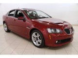 2009 Sport Red Metallic Pontiac G8 Sedan #92265251