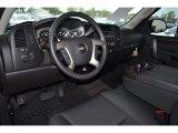 2013 Chevrolet Silverado 1500 LT Regular Cab Ebony Interior