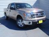 2014 Pale Adobe Ford F150 XLT SuperCrew #92265202