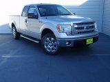 2014 Ingot Silver Ford F150 XLT SuperCab #92265200