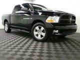 2012 Black Dodge Ram 1500 ST Crew Cab 4x4 #92304620