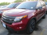 2014 Ruby Red Ford Explorer Sport 4WD #92304364