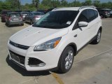 2014 White Platinum Ford Escape Titanium 1.6L EcoBoost #92304358
