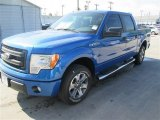 2014 Blue Flame Ford F150 STX SuperCrew #92304353