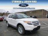 2014 White Platinum Ford Explorer XLT 4WD #92304441
