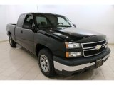 2007 Black Chevrolet Silverado 1500 Classic Work Truck Extended Cab #92304680