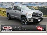 2014 Silver Sky Metallic Toyota Tundra SR5 TRD Double Cab 4x4 #92304295