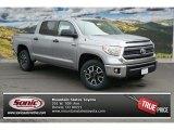 2014 Silver Sky Metallic Toyota Tundra SR5 TRD Crewmax 4x4 #92304293