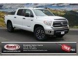 2014 Super White Toyota Tundra SR5 TRD Crewmax 4x4 #92304292