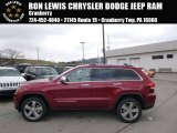 2014 Deep Cherry Red Crystal Pearl Jeep Grand Cherokee Limited 4x4 #92304421