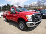 2014 Ford F250 Super Duty XL Regular Cab 4x4 Utility Truck Data, Info and Specs