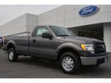 2014 Sterling Grey Ford F150 XL Regular Cab #92304504