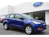 2014 Deep Impact Blue Ford Escape S #92304503