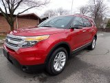 2011 Red Candy Metallic Ford Explorer XLT 4WD #92304820