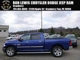 2014 Blue Streak Pearl Coat Ram 1500 Big Horn Crew Cab 4x4 #92304414