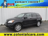 2008 Nighthawk Black Pearl Honda CR-V EX-L 4WD #92304819