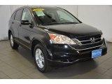 2010 Crystal Black Pearl Honda CR-V EX #92304322