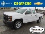 2014 Summit White Chevrolet Silverado 1500 WT Double Cab 4x4 #92304638