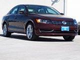 2014 Opera Red Metallic Volkswagen Passat TDI SE #92304786