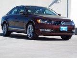 2014 Opera Red Metallic Volkswagen Passat TDI SEL Premium #92304784