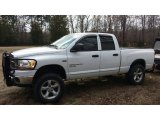 2006 Bright White Dodge Ram 1500 SLT Quad Cab 4x4 #92344336