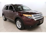 2011 Bordeaux Reserve Red Metallic Ford Explorer XLT 4WD #92344141