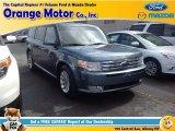 2010 Steel Blue Metallic Ford Flex SEL AWD #92343955