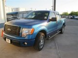 2014 Blue Flame Ford F150 STX SuperCrew #92343767