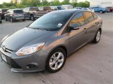 2014 Sterling Gray Ford Focus SE Sedan #92343764