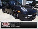 2012 Black Porsche 911 Turbo S Cabriolet #92344031