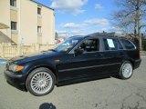 2002 Jet Black BMW 3 Series 325xi Wagon #92343676