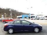 2012 Kona Blue Metallic Ford Focus S Sedan #92388484