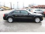 2008 Brilliant Black Crystal Pearl Chrysler 300 LX #92388395