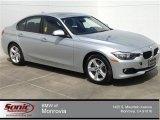2014 Glacier Silver Metallic BMW 3 Series 328i Sedan #92388658