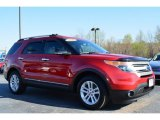 2011 Red Candy Metallic Ford Explorer XLT #92388548
