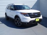 2014 White Platinum Ford Explorer Sport 4WD #92388631