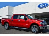 2014 Ruby Red Ford F150 XLT SuperCrew 4x4 #92388539